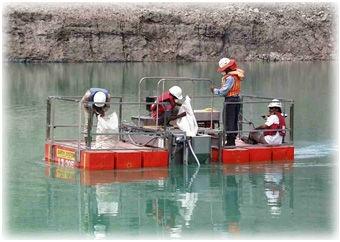 Pengolahan air asam tambang dengan neutramill