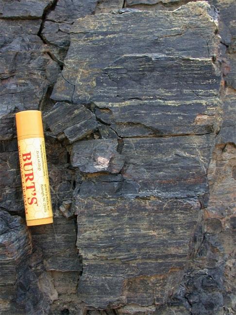 Lapisan batubara yang mengandung pyrite